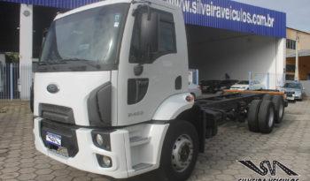 Ford Cargo 2422 – No Chassi – Ano: 2012 – Baixo KM