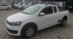 VW Saveiro Trendline 1.6 – Cabine Estendida – Completa – Ano: 2015