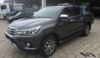 Toyota Hilux SRX – Cabine Dupla – Ano: 2018