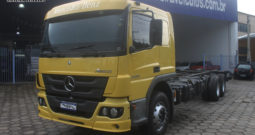 Mercedes Benz Atego 2430 – Ano:2017 – No chassi