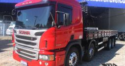 Scania P 310 – Ano: 2014 – 4º Eixo – Carroceria
