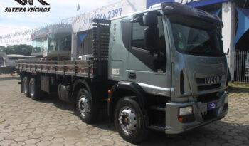 Iveco Tector 240E25s – Ano: 2010 – 4ºEixo – Carroceria