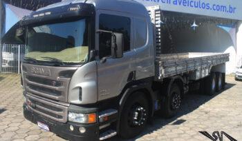 Scania P-310 – 4º Eixo – Ano: 2013 – Carroceria